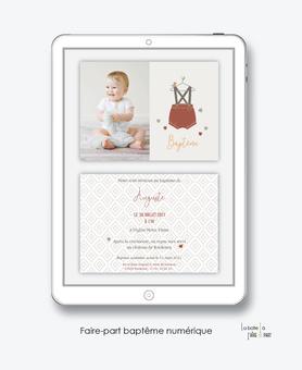 faire-part baptême garçon numérique-faire part baptême électronique-faire part numérique-pdf imprimable-pdf numérique-faire part connecté-Petits habits-faire part à imprimer soi-même-faire-part à envoyer par sms ou msm-faire-part à envoyer par mail