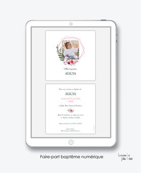 faire-part baptême fille numérique-faire part baptême électronique-faire part numérique-imprimable-pdf numérique-faire part connecté-fleurs-eucalyptus-religieux-faire part à imprimer soi-même-faire-part à envoyer par mms-à envoyer par mail-réseau sociaux