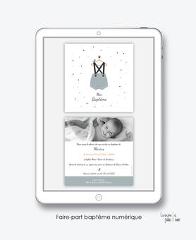 faire-part baptême numérique-faire part baptême digital-faire part numérique-imprimable-pdf numérique-faire part connecté-petit habit bloomer bleu-faire part à imprimer soi-même-faire-part à envoyer par sms-mms-par mail-réseaux sociaux-whatsapp-facebook