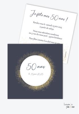 invitation anniversaire femme originale