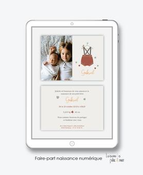 faire-part naissance garçon numérique-faire part naissance électronique-faire part numérique-pdf imprimable-pdf numérique-faire part connecté-Petits habits-A imprimer soi-même-faire-part à envoyer par sms-msm-faire-part à envoyer par mail-réseaux sociaux