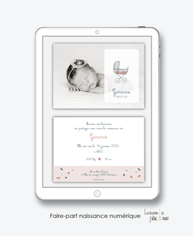 https://www.laboiteafairepart.fr/naissance-fille-3/naissance-landau-vintage/faire-part-naissance-fille-rayures-et-bl%C3%A9-pdf/