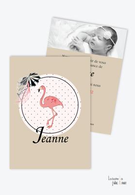 faire part naissance fille pas cher-animal-couronne-fleurs-champètre-cygne origami-rayure-marguerite-pivoine-