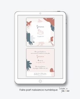 faire-part naissance numérique-faire part électronique-faire part numérique-imprimable-pdf numérique-faire part connecté-motif abstrait-cheval à bascule-faire part à imprimer -faire-part à envoyer par sms-mms-par mail-réseaux sociaux-whatsapp-facebook
