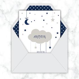faire-part naissance garçon numérique-faire part électronique-faire part numérique-imprimable-pdf numérique-faire part connecté-nuage lune-etoiles -faire part à imprimer-faire-part à envoyer par sms-mms-par mail-réseaux sociaux-whatsapp-facebook