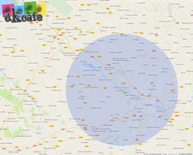 Zone de déplacement DKOAFE