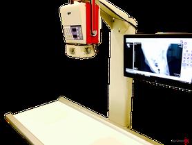 Röntgengerät von Tierärztin Svea Lucas