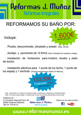 Reforma Barata Baño Rivas Vaciamadrid