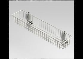 240503-A-BT, AMICO, 収納カゴ, 病院用, 病院設備