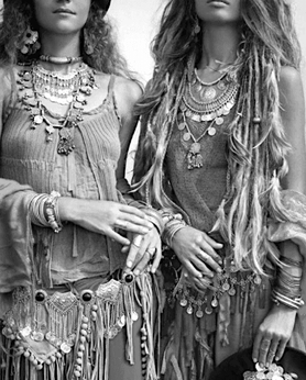 Parures Bijoux Bohémiennes pour Femme