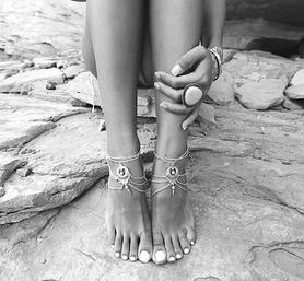 Bracelets de Chevilles Bohémiens pour Femme