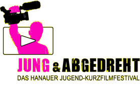 """Logo Jugendfilmfestival """"Jung & Abgedreht"""""""