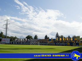 16.09.2017 SCR Altach vs. SK Rapid Wien 2:2