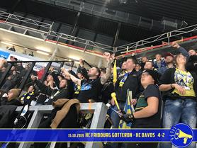 15.10.2019 HC Fribourg Gottéron vs. HC Davos 4:2