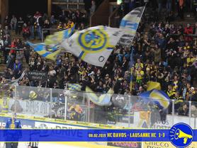 08.02.2019 HC Davos vs. Lausanne HC 1:3