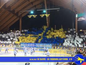 30.09.2017 HC Davos vs. HC Fribourg Gotteron 3:0