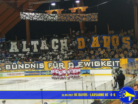 16.09.2017 HC Davos vs. Lausanne HC 4:6