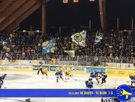 03.11.2017 HC Davos vs. SC Bern 1:6