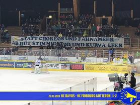 21.03.2019 HC Davos vs. HC Fribourg Gottéron 1:2
