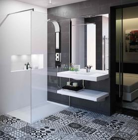 cuisine intérieur design  toulouse salle de bain moderne tendance épurée contemporaine