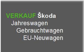 >> Verkauf ŠKODA <<