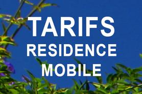 TARIFS MOBILE HOME
