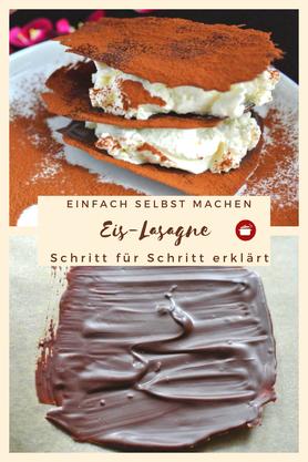 Eis-Lasagne Schritt für Schritt erklärt #eis #lasagne #thermomixrezepte #sommer #partysnacks