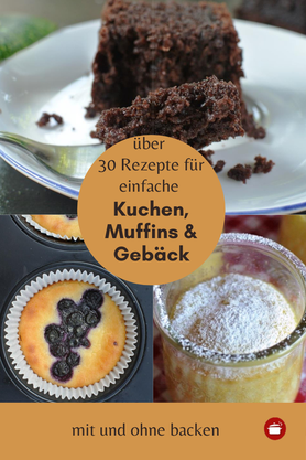 Einfache Kuchen, Muffins, Gebäck #kuchen #einfacherzepte