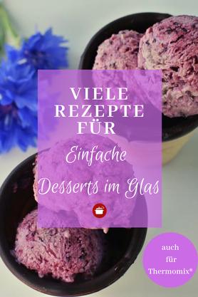 Rezepte für #Dessert im Glas #nachtisch #thermomixrezepte #dessertimglas