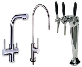 Vasta gamma di rubinetteria per depuratori acqua
