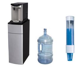Mobiletti porta depuratori boccioni acqua e porta bicchieri per dispenser