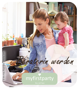 myfirstparty Homeparty Shoppingparty für Baby und Kind Babyparty Beraterin werden