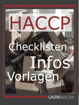 gratis HACCP Checklisten, Infos und Vorlagen