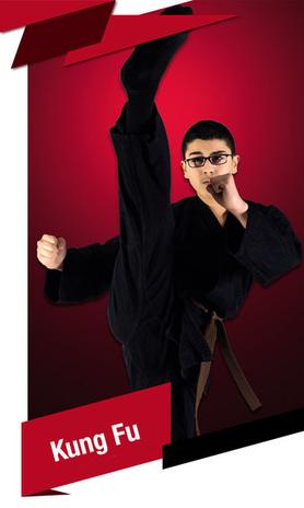 Kung fu für Kinder und Erwachsene