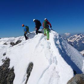 Hochtour Piz Bernina Biancograt