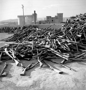 Armes remises par ELAS en février 1945 - source Min. des Aff. etrangères de la Grèce
