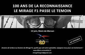 Retrait du Mirage F1 à la BA-118 Mont de Marsan 2014