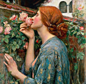 J.W. Waterhouse The Soul of the Rose