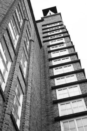Treppenturm der Strumpffabrik ROGO Oberlungwitz