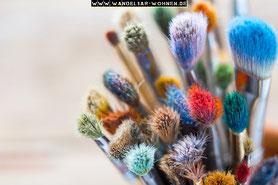Pinsel-Ratgeber, Pinsel für Shabby Chic, Übersicht der Pinse, Mischborsten, Naturborsten