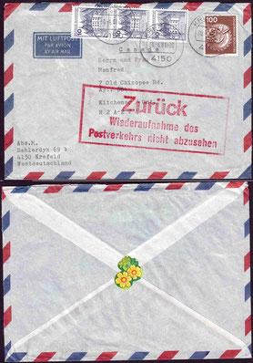 Poststreik Kanada im Jahr 1981