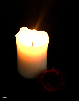 Kerzenschein Beerdigung