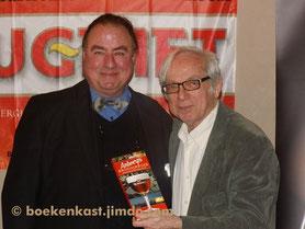 Eddy Vereycken en uitgever Alexander Jonckx