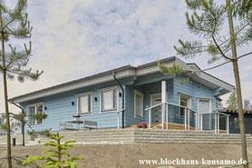 Blockhaus mit Wohn-/Nutzfläche 141 m²  - Architektenhaus, Designhaus, Einfamilienhaus, Bungalow, Blockhäuser,  Wohnen, Schleswig Holstein