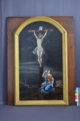 Altarblatt Huerten-Museum Endzustand