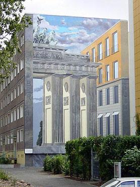 Gert Neuhaus Wandbild/Mural Berlin-Buch
