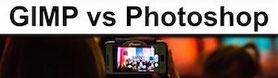 GIMP versus Photoshop
