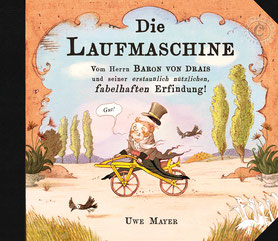Die Laufmaschine, Cover, Bilderbuch ab 5 Jahren von Uwe Mayer, ISBN 9783000614651