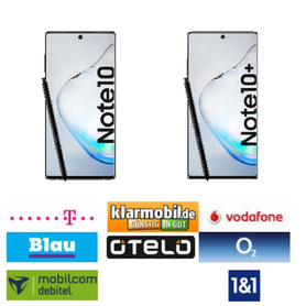 Samsung Galaxy Note10 und Samsung Galaxy Note10 Plus