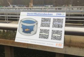 QR-Codes in der Kläranlage Aachen-Soers!